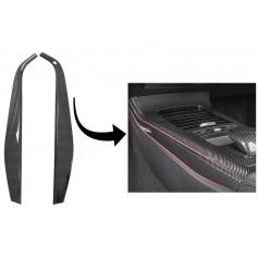 Inserts carbone console centrale Mercedes Classe A W177 V177 (18+)