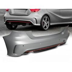 Pare choc arrière Mercedes Classe A W176 Look Pack AMG (12-15)