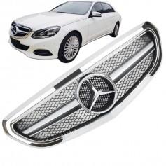 Grille de calandre Mercedes Classe E W212 Look AMG (13-16)