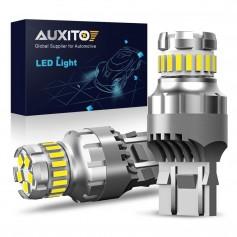 2x Ampoules LED W21W Xenon white 6500K