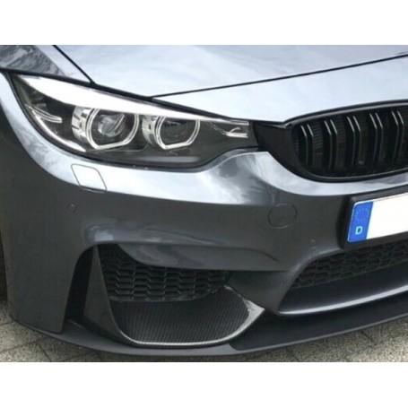 2x Splitters / Rajouts de pare choc Carbone BMW M3 F80, M4 F82, M4 F83 (+14)