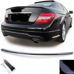 Becquet noir brillant Mercedes Classe C W204 C204 Coupe (07-15)